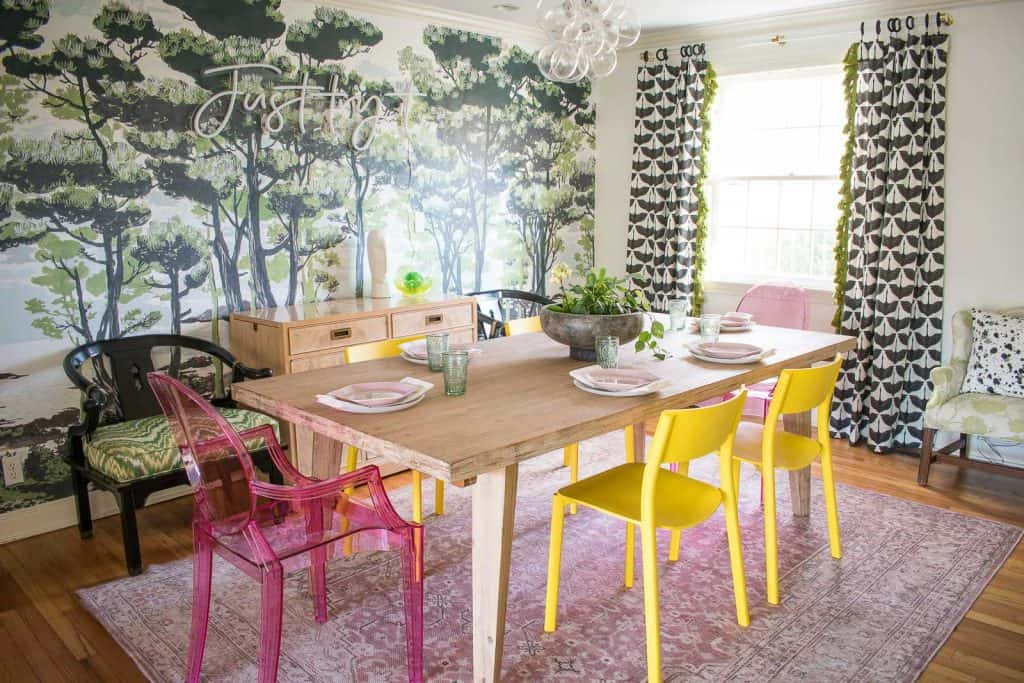 dining room reveal for one room challenge