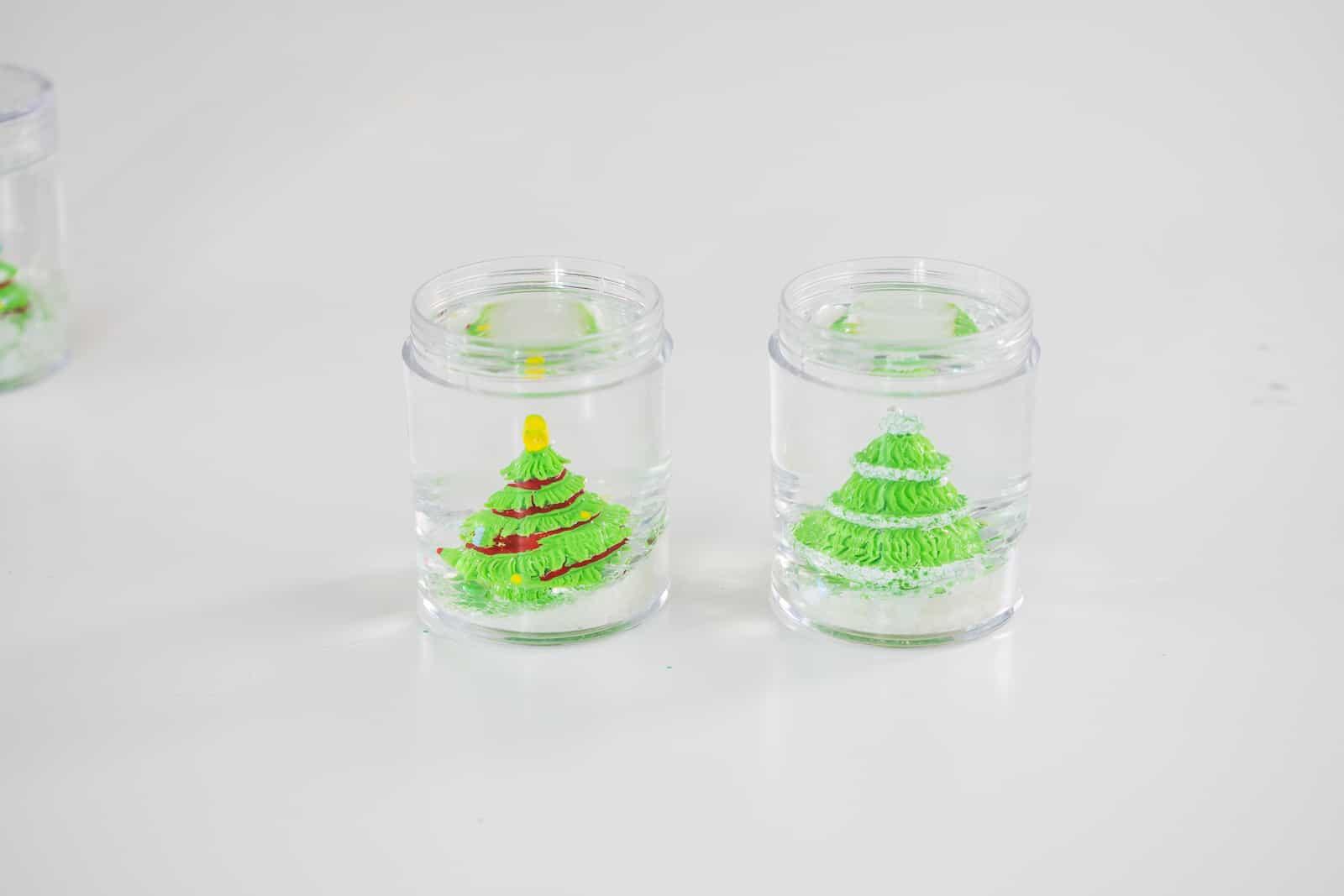 add glycerin to snow globes