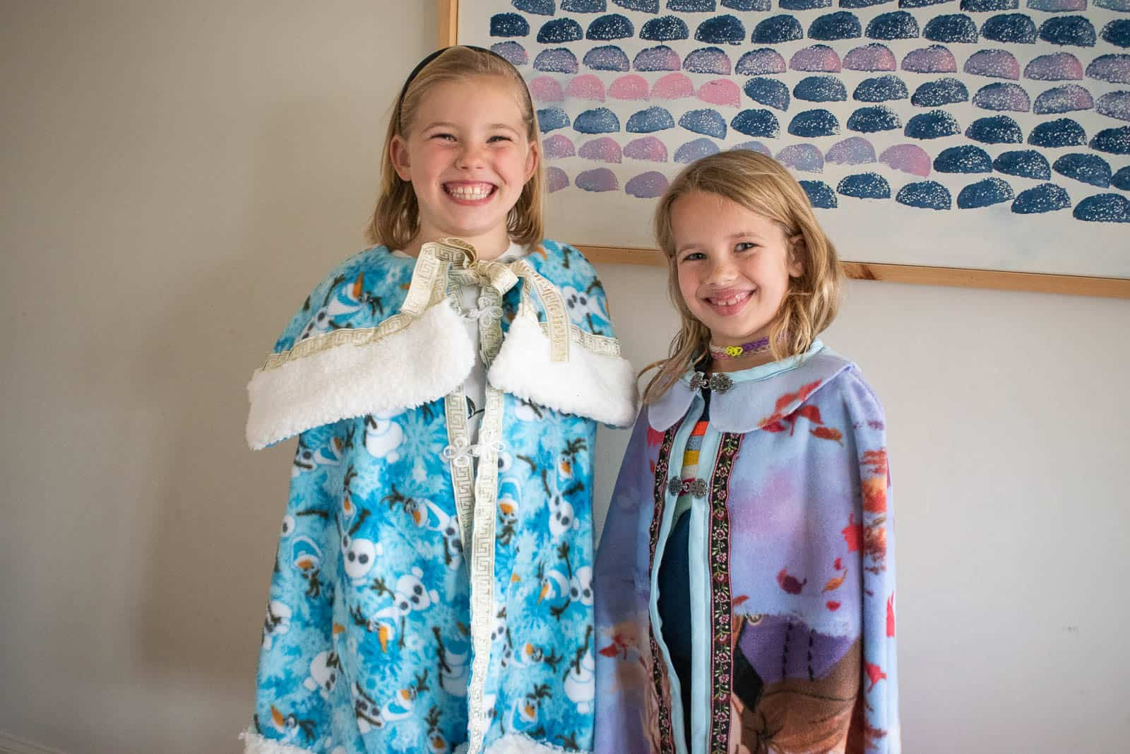 martha and louisa frozen capes