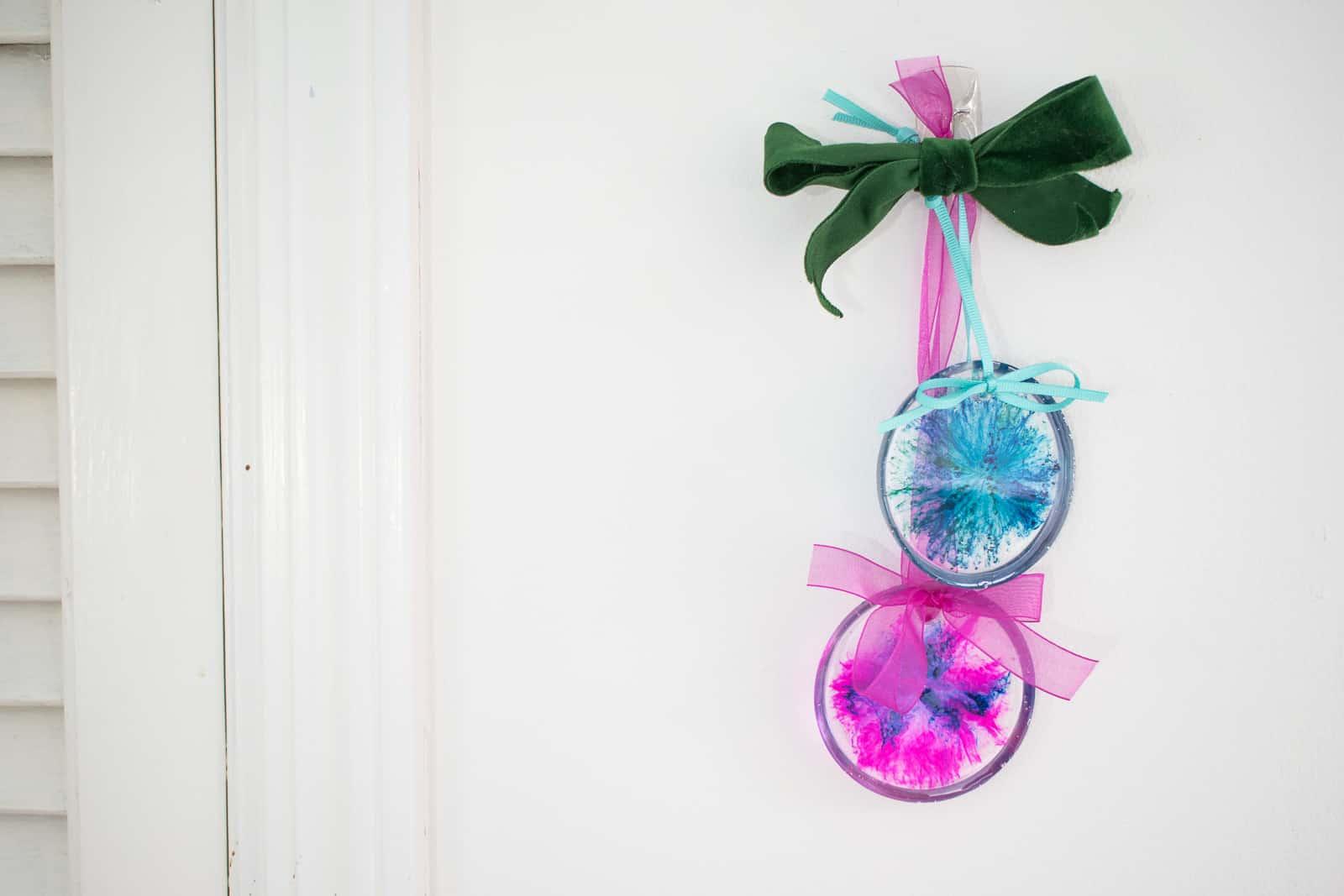 epoxy pour resin ornament