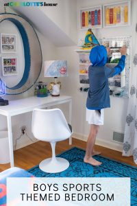 BOYS SPORTS THEMED BEDROOM - At Charlotte\'s House