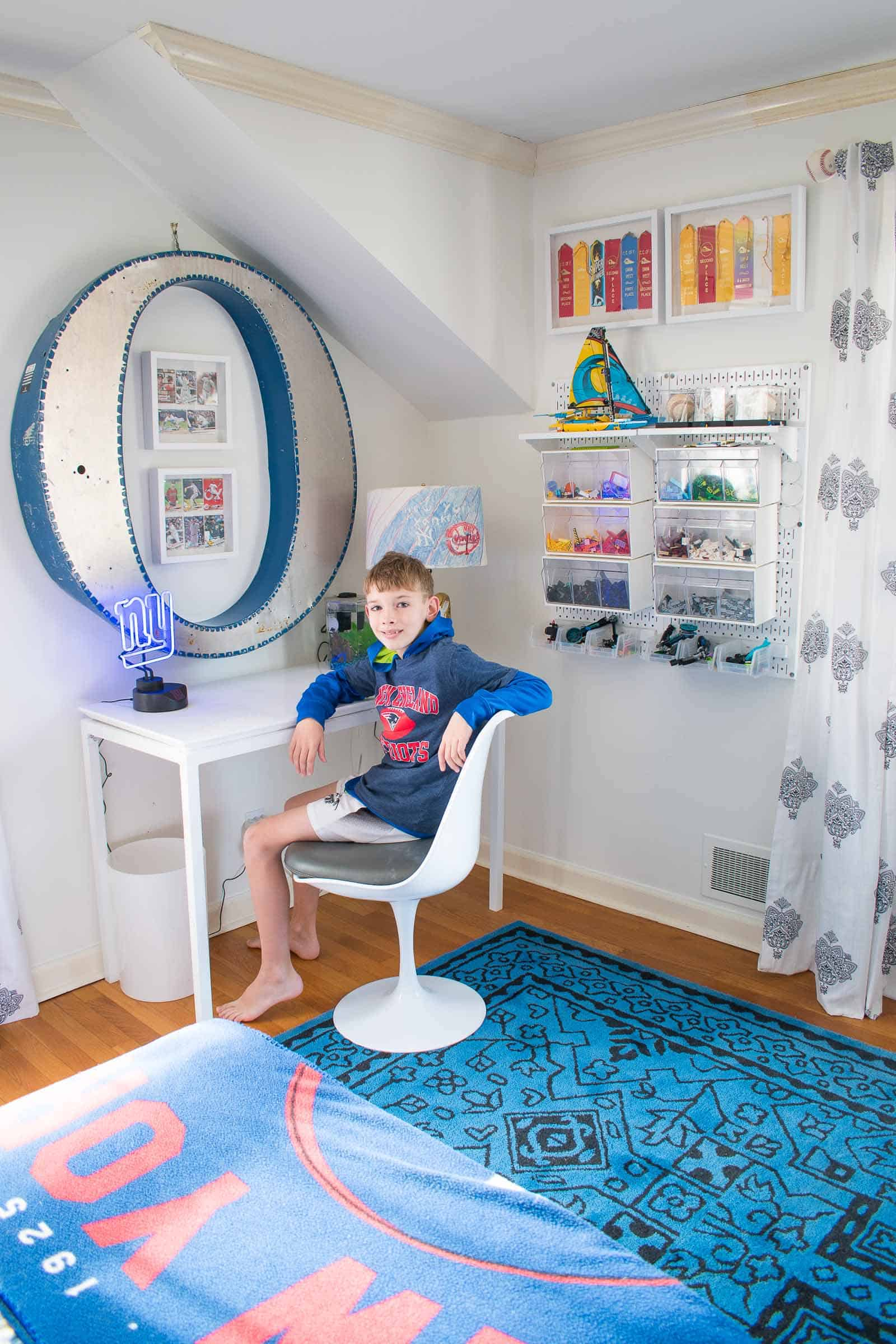 sports room for a boy
