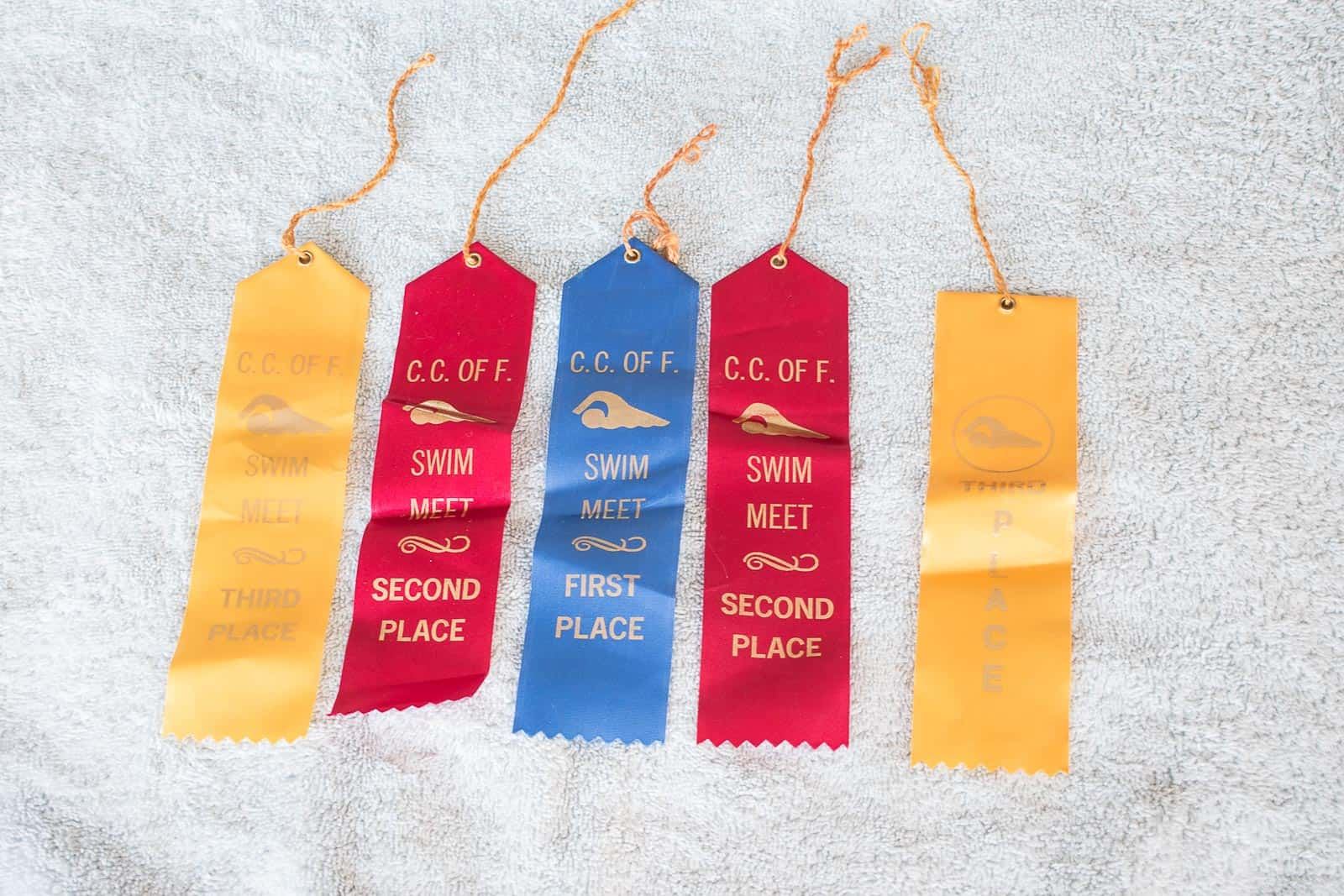 ribbons to be ironed