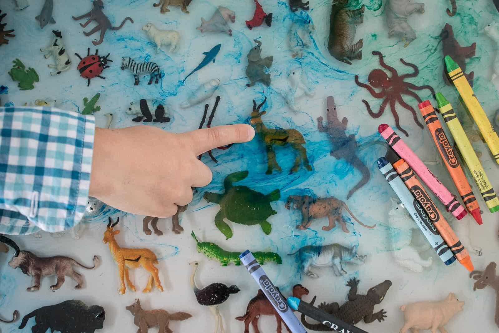 liquid pigment in epoxy