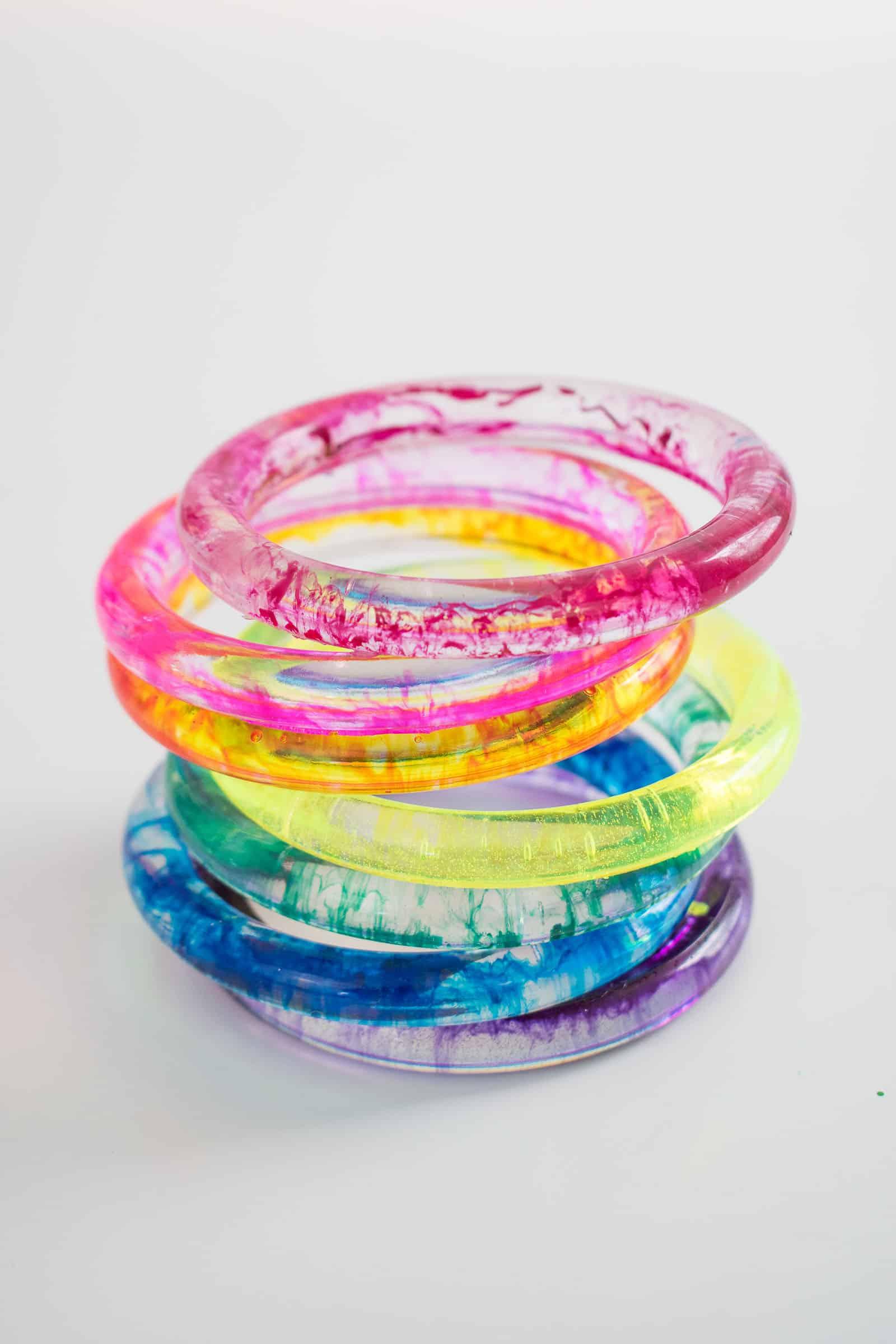 epoxy bangles