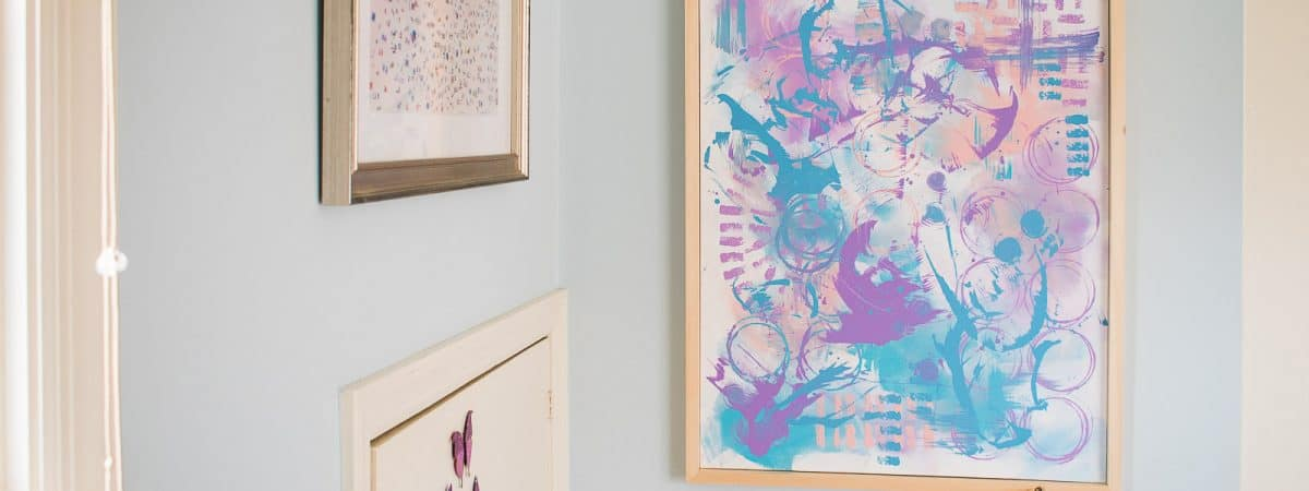 How To: Painting Wall Art