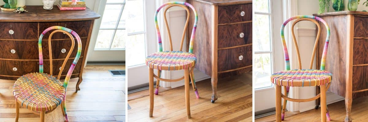 Thrift Store Makeover: Bentwood Chair