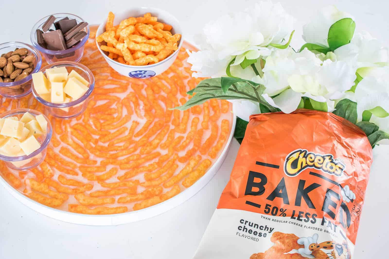 cheetos epoxy serving tray