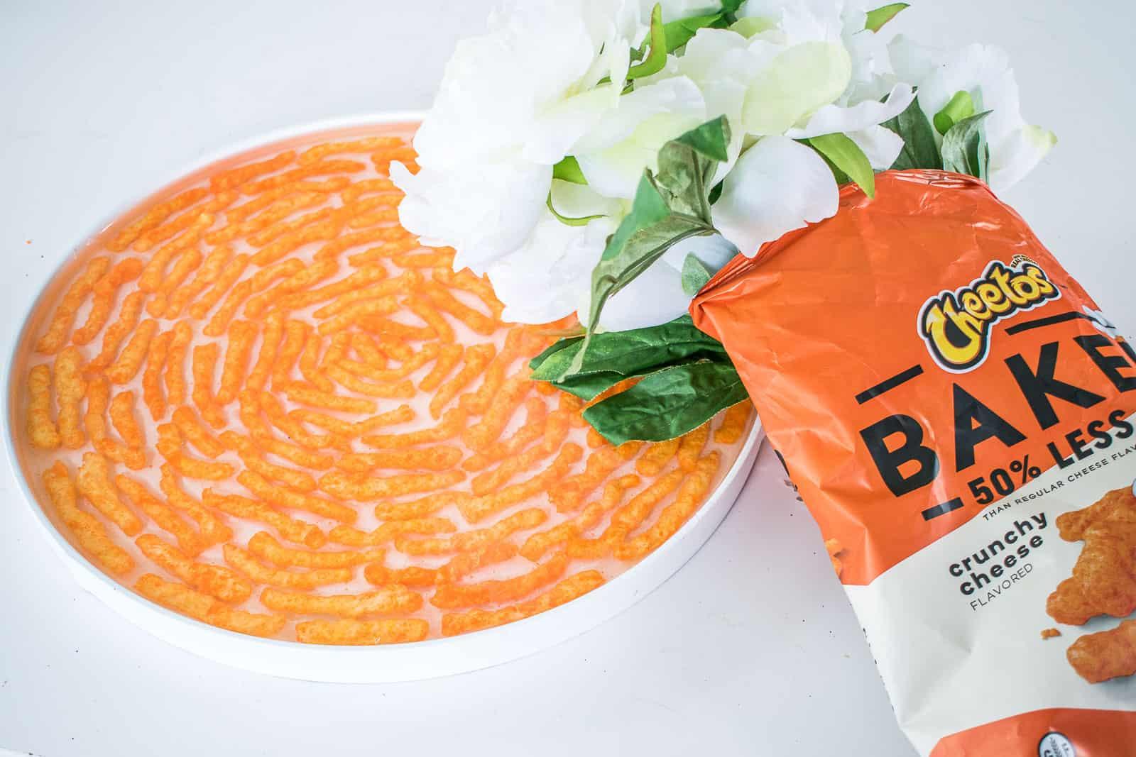 Cheetos epoxy tray