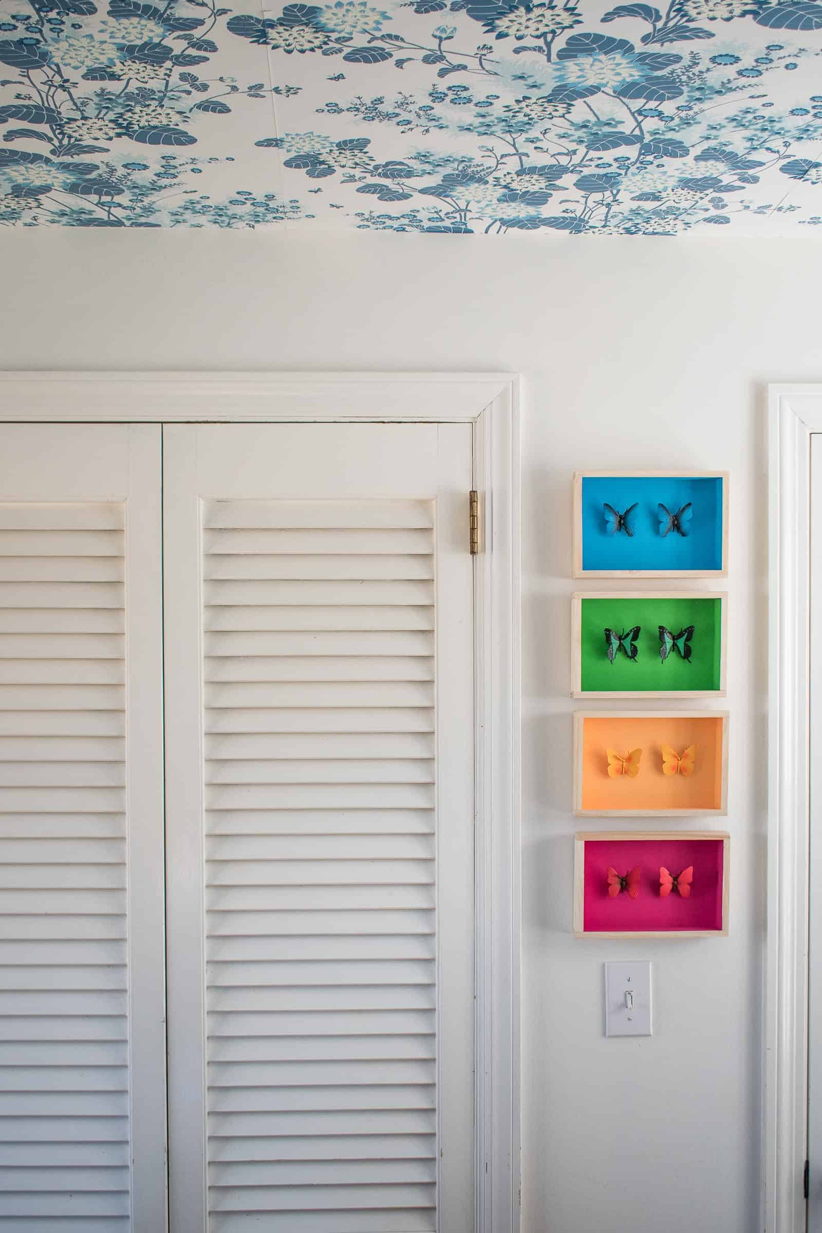 diy plastic toy shadow box