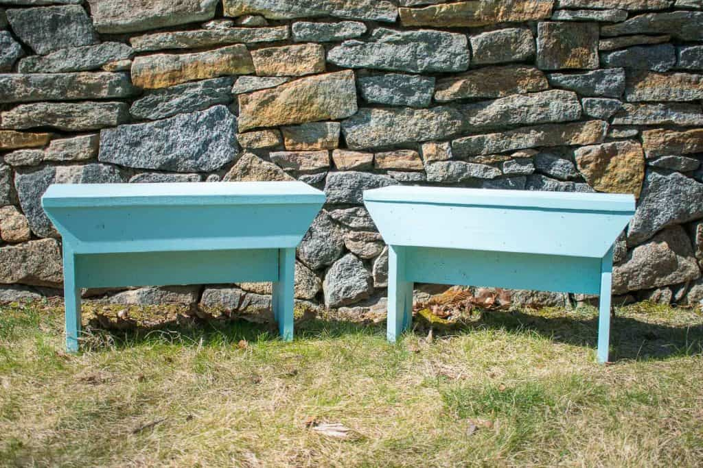 How To Build A Rustic Wooden Bench At Charlotte S House