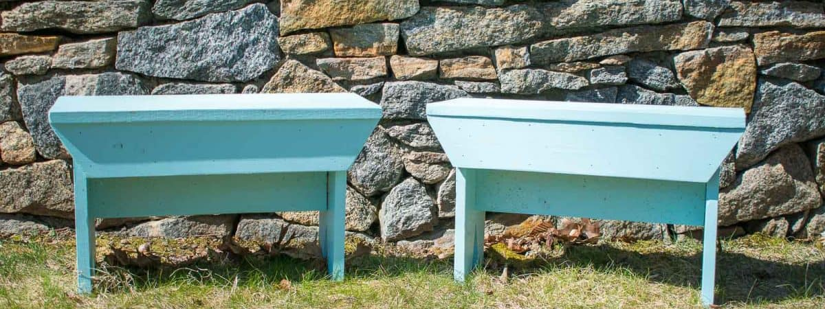 How to Build a Rustic Wooden Bench