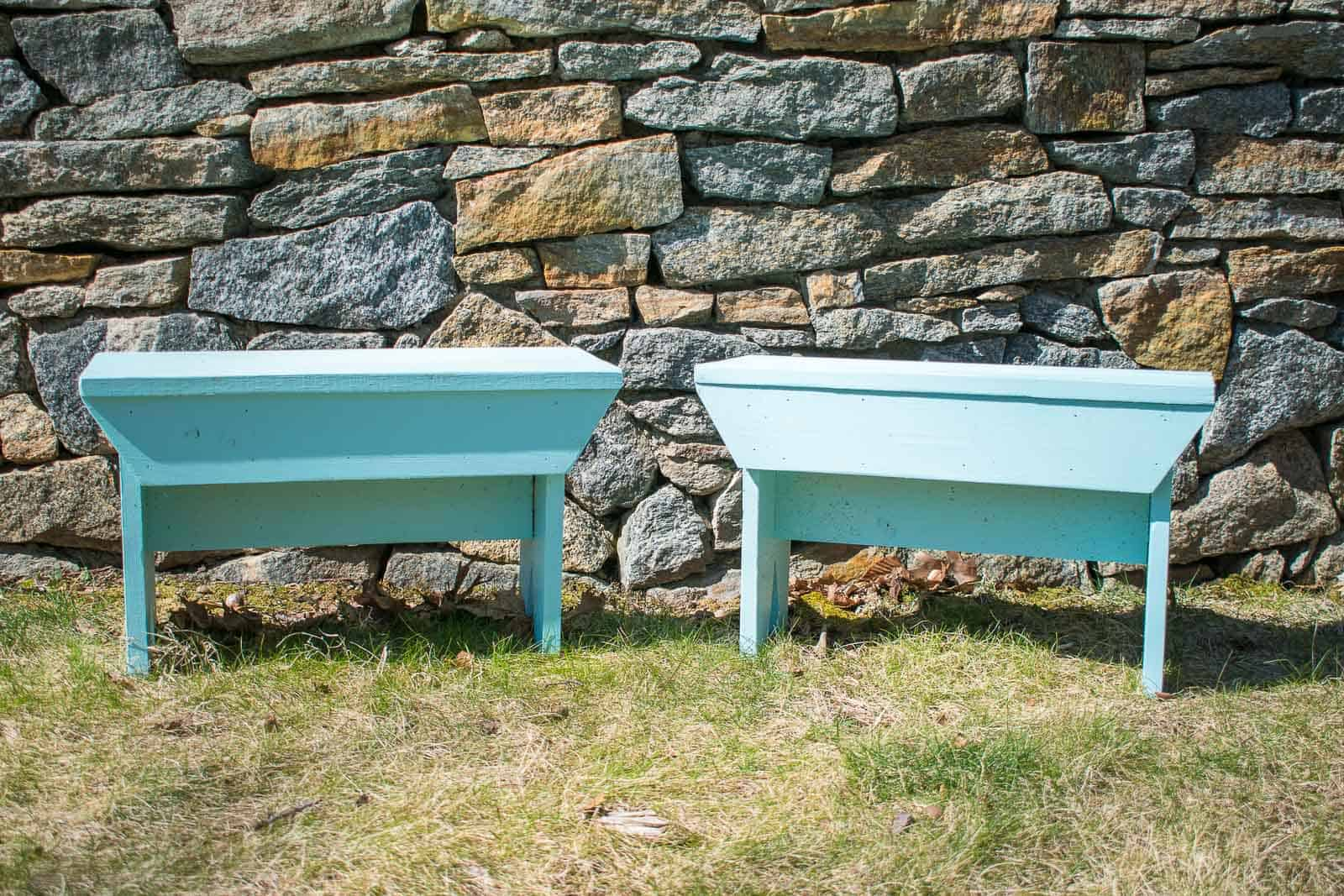 diy wooden farmhouse bench
