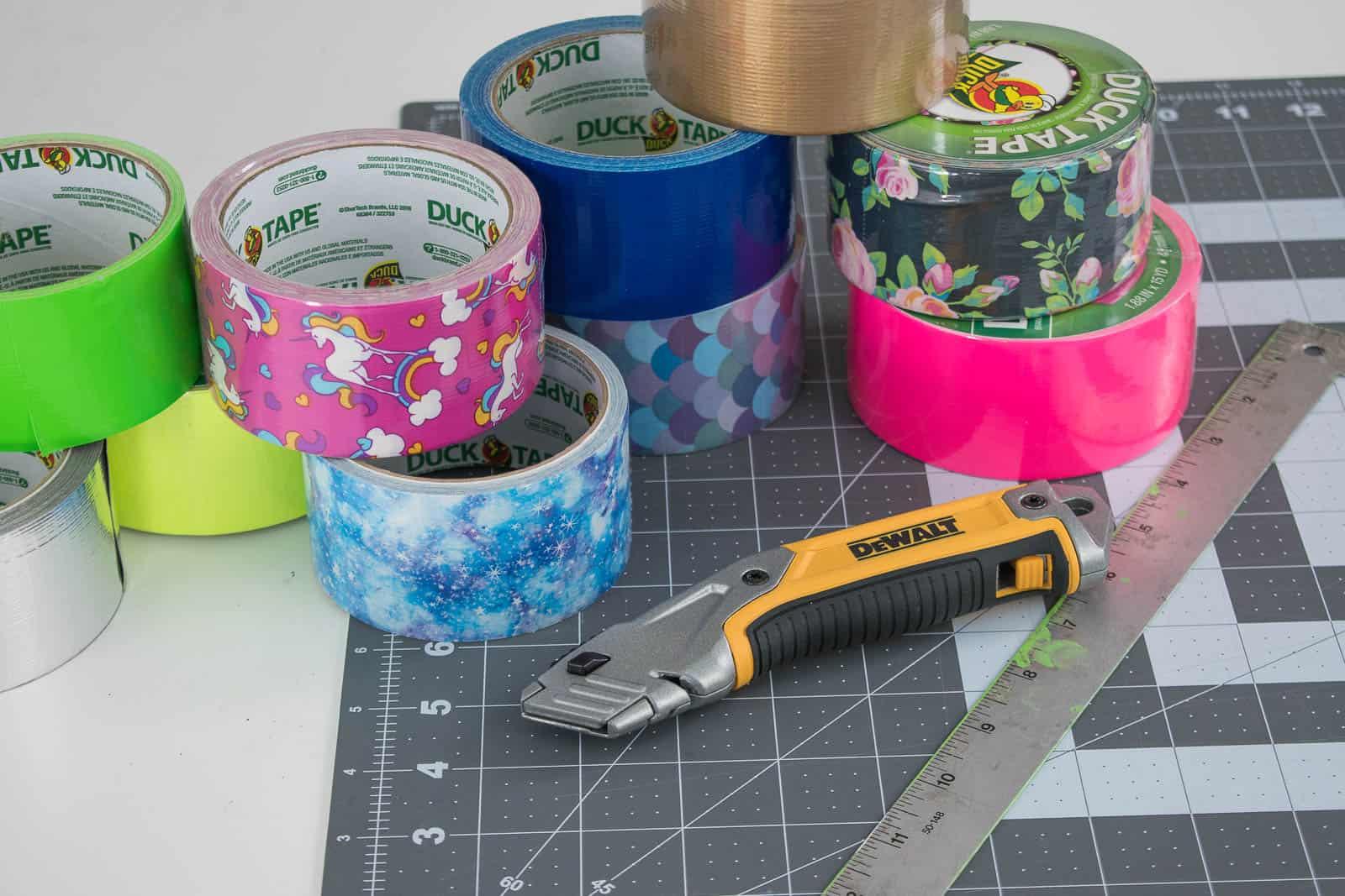 duct tape messenger bag supplies