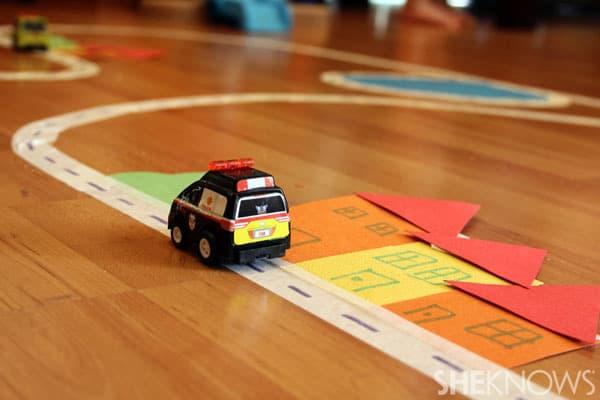 car race track