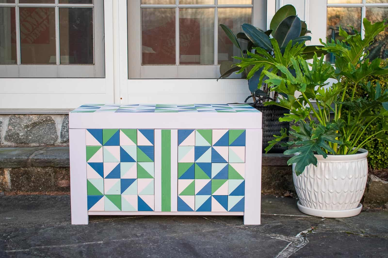diy wooden cooler box