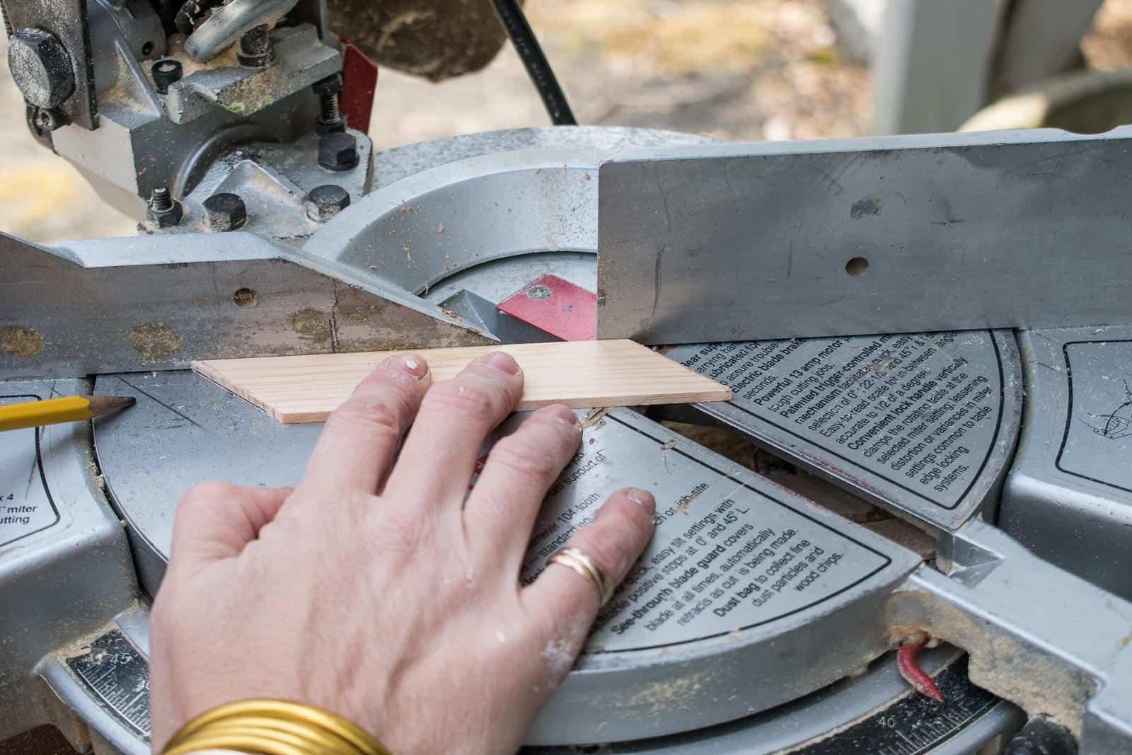 cutting paint stirrers