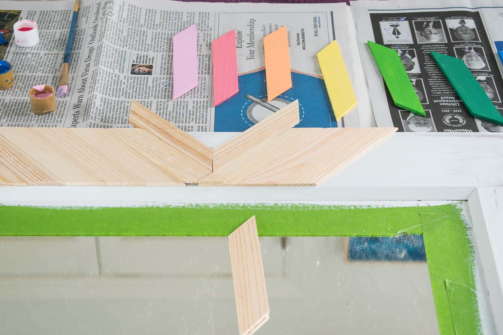 painting paint stirrers