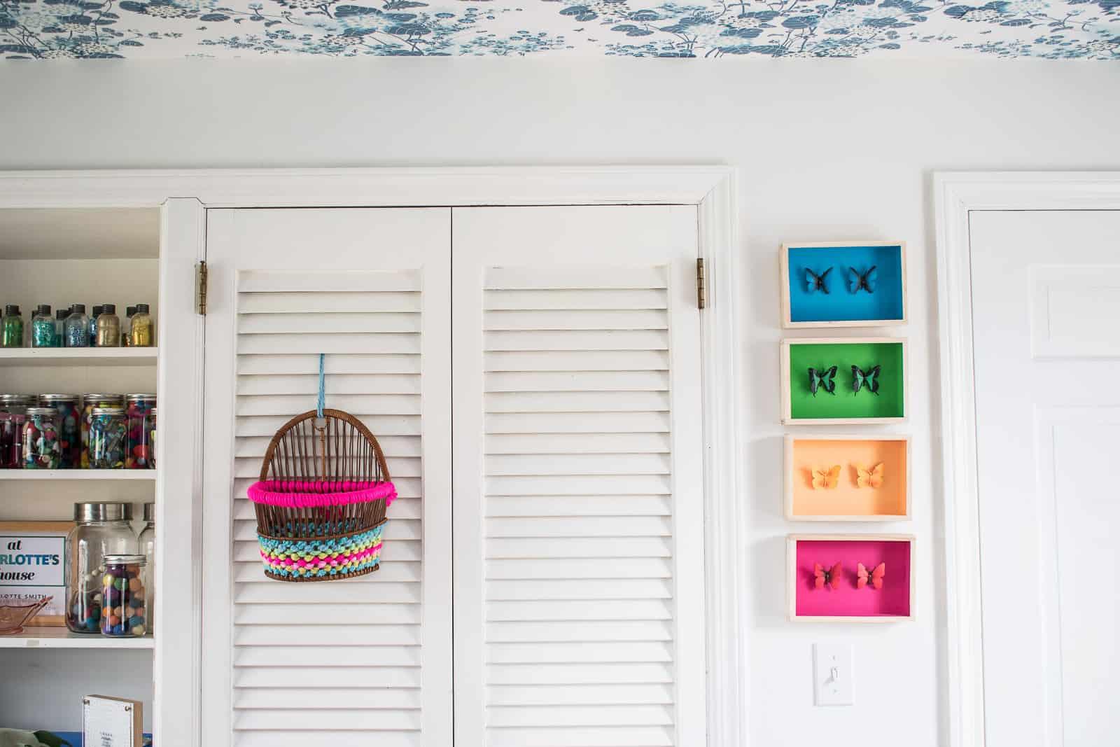yarn woven basket