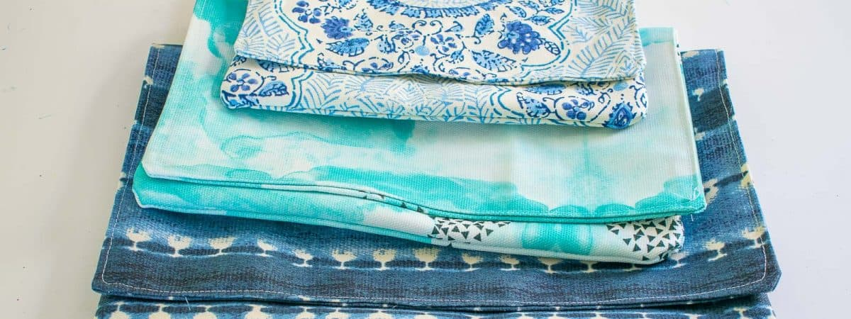 How to Sew a Fabric Bag in Under 5 Minutes