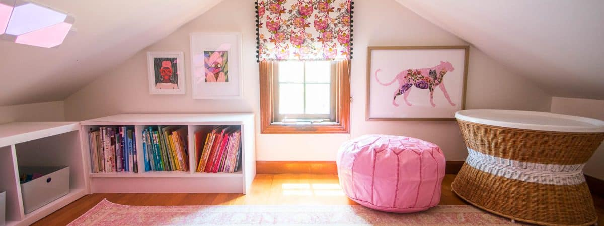 Creating a Kids Reading Nook