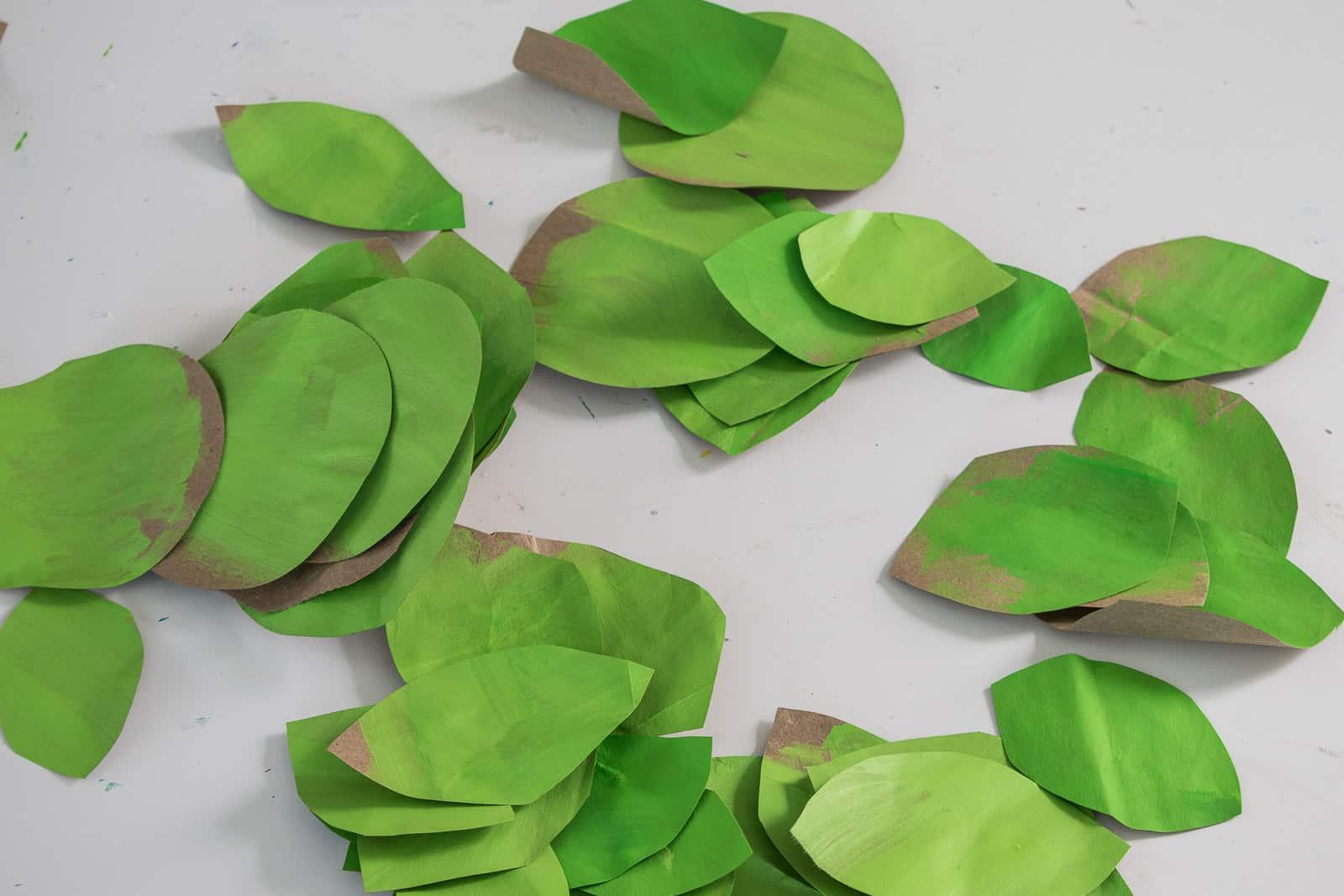 cut out paper petals