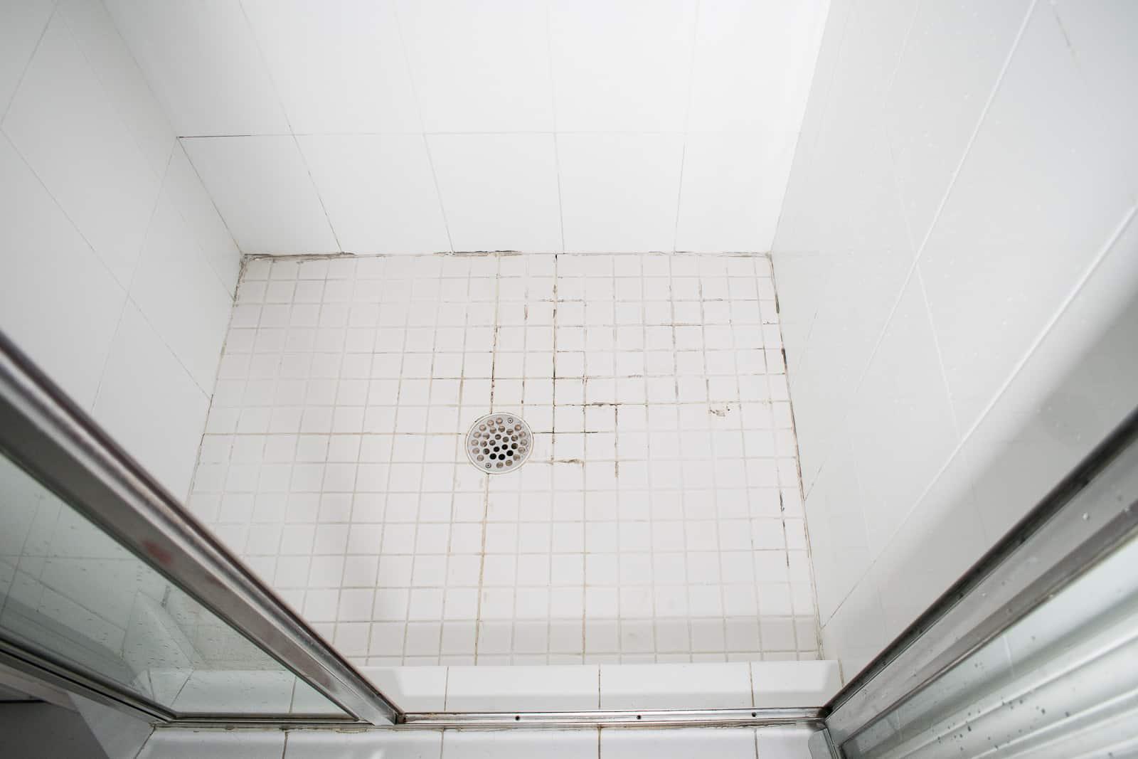 cracked shower floor