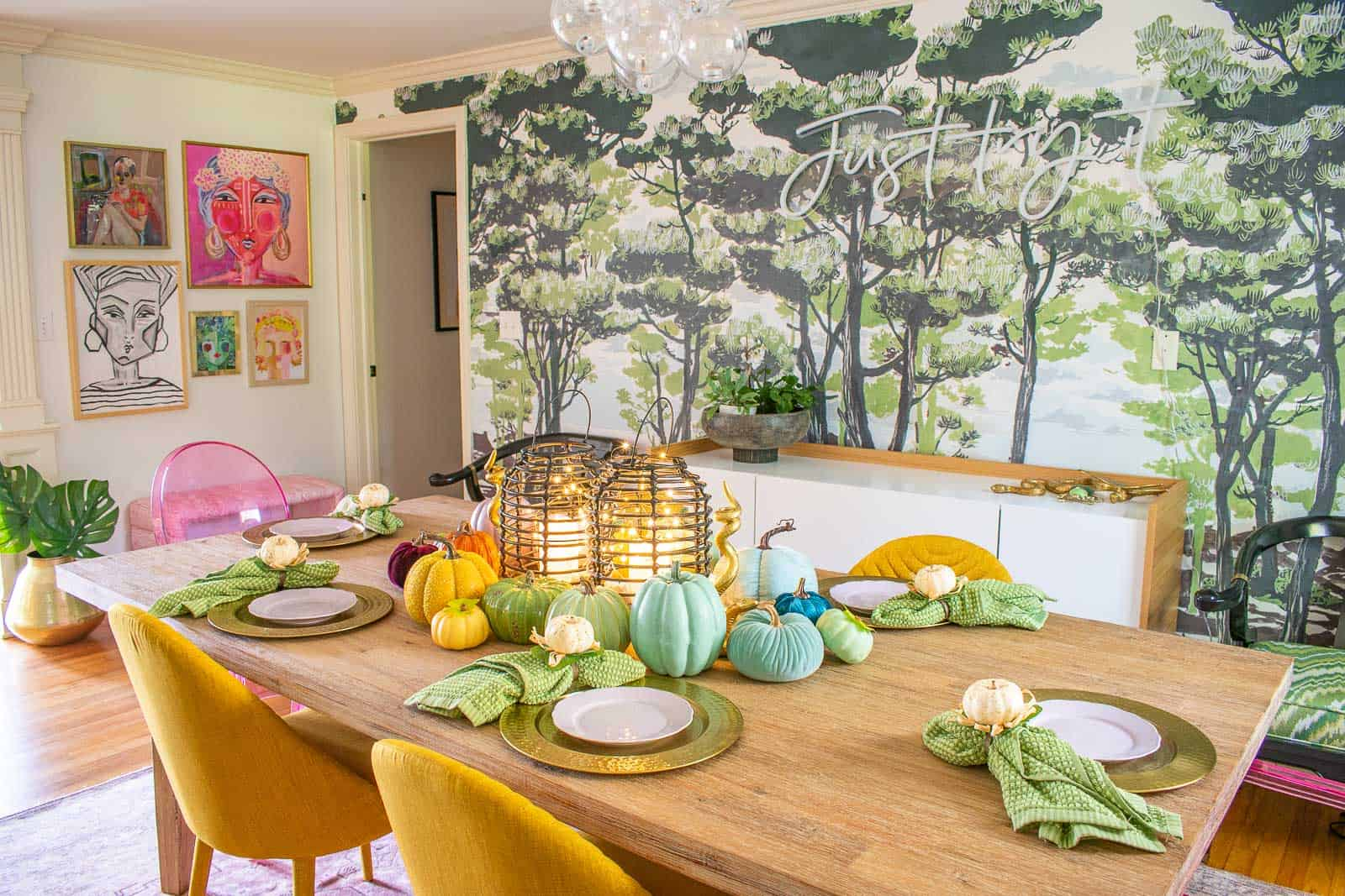 harvest tablescape