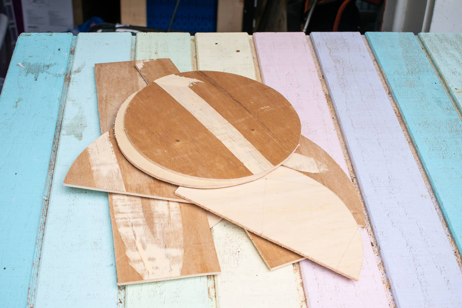 cut out shapes with jig saw