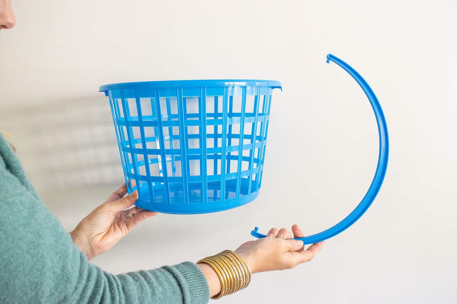 remove handle on the basket