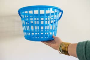 plastic dollar store basket