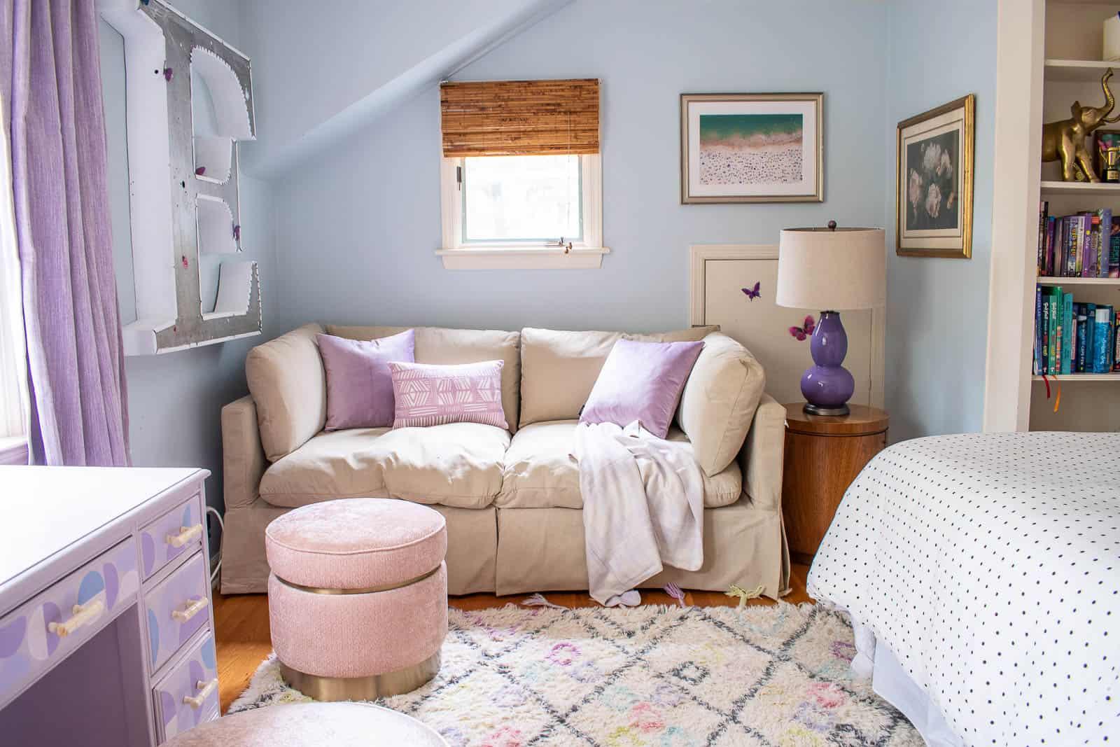 Tween girls bedroom reveal