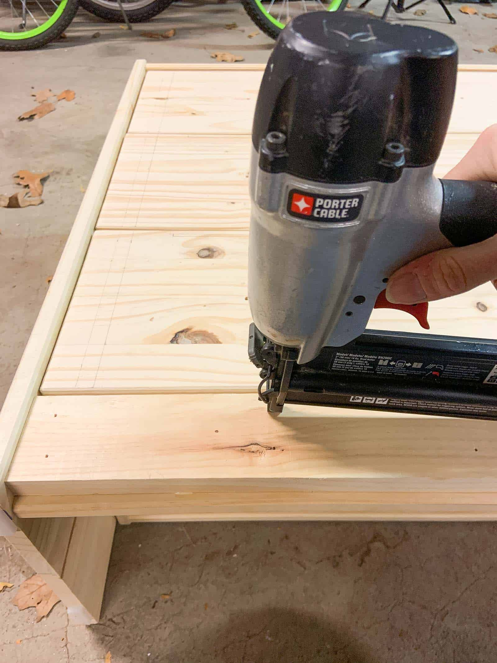 build up the kick plate