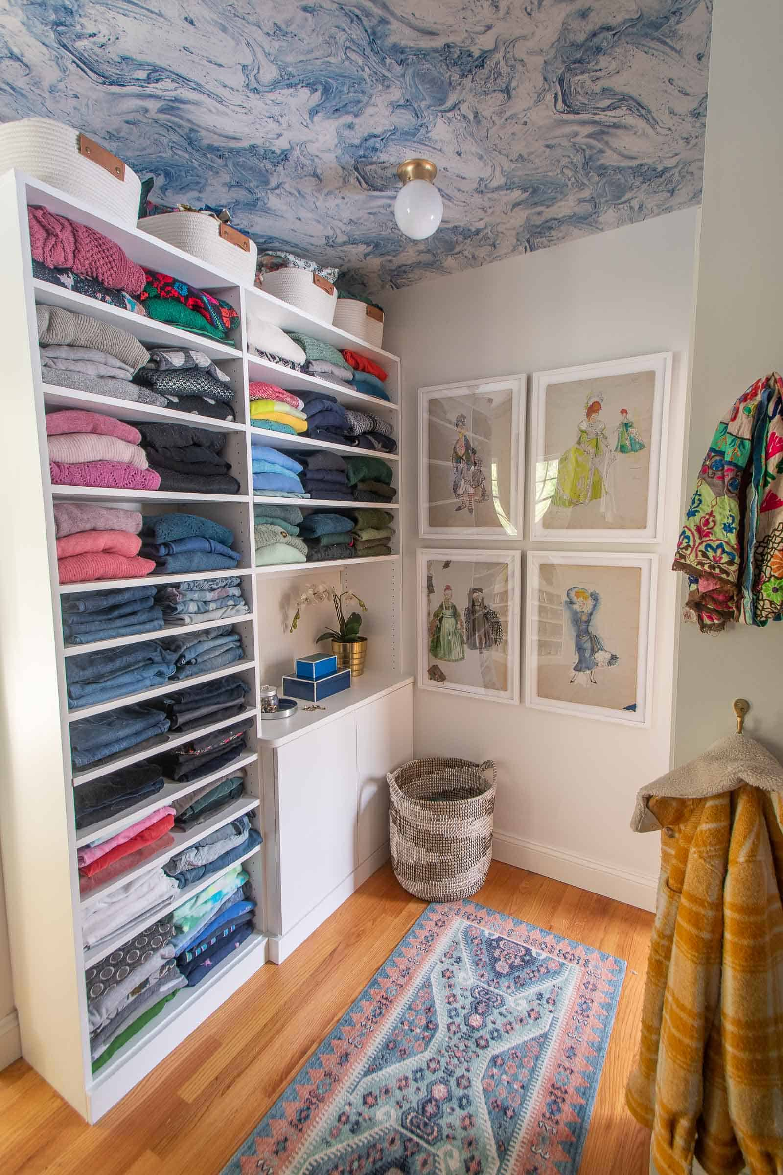new closet makeover reveal
