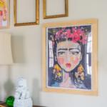 custom wooden frame
