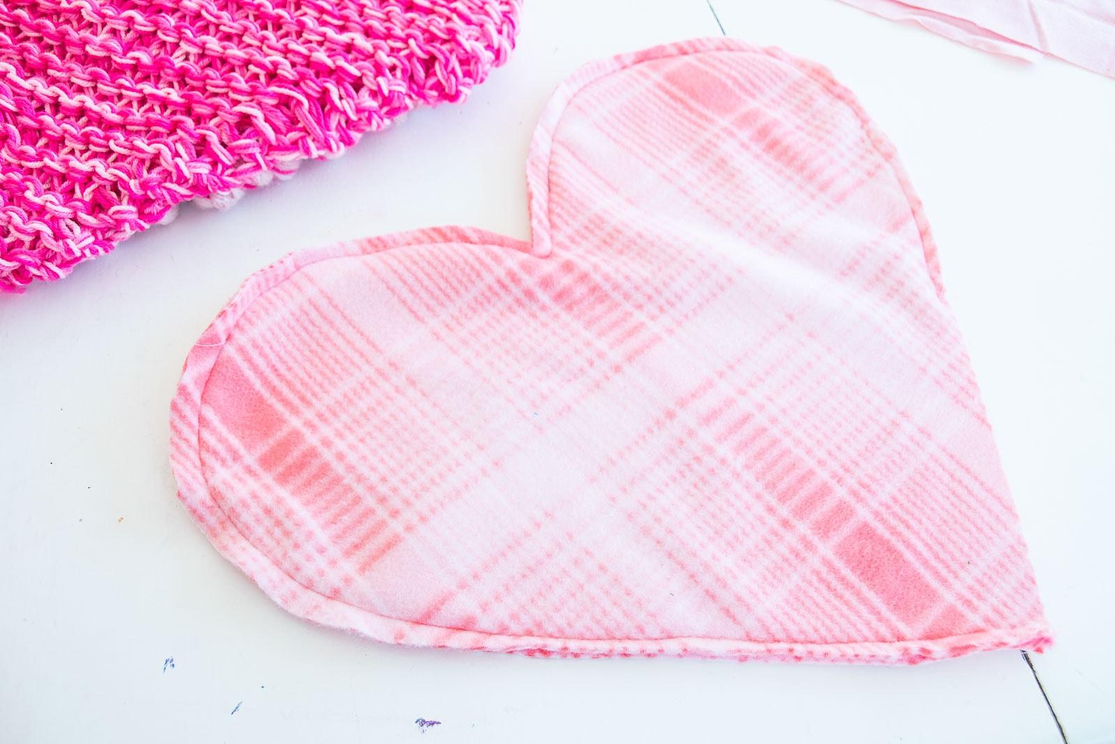 fabric heart liner