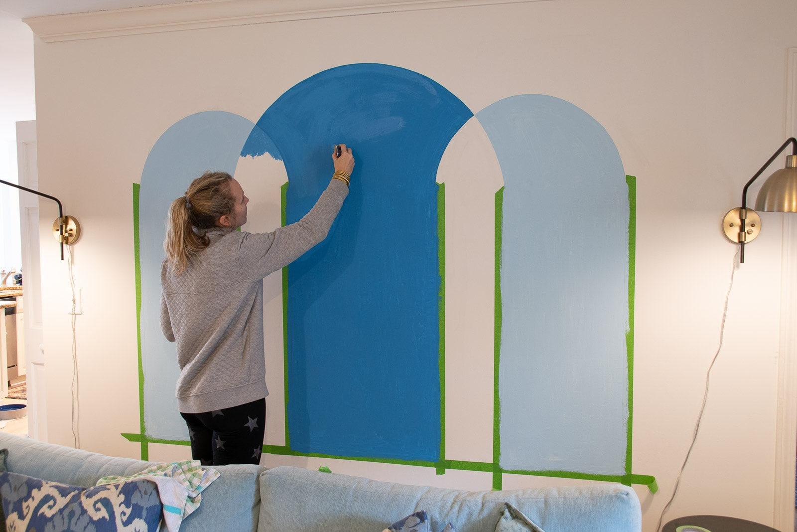 painting the arches