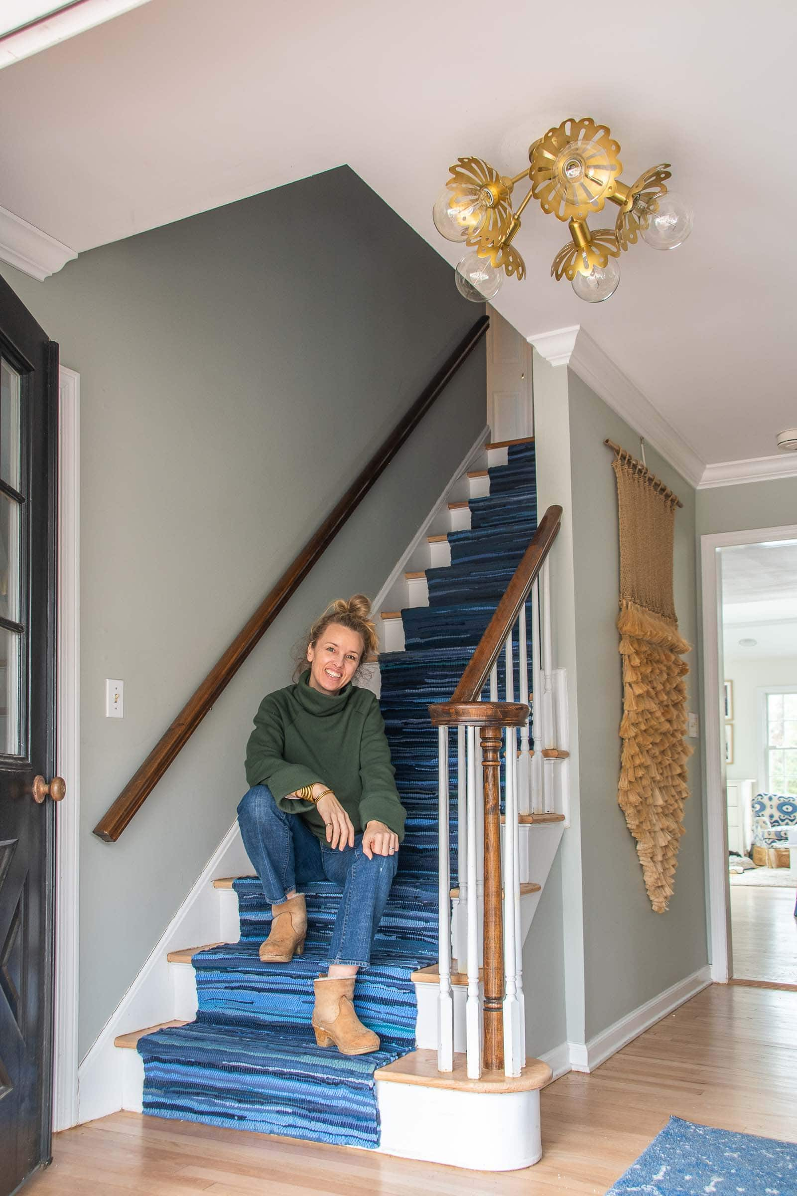 how to install a staircase runner