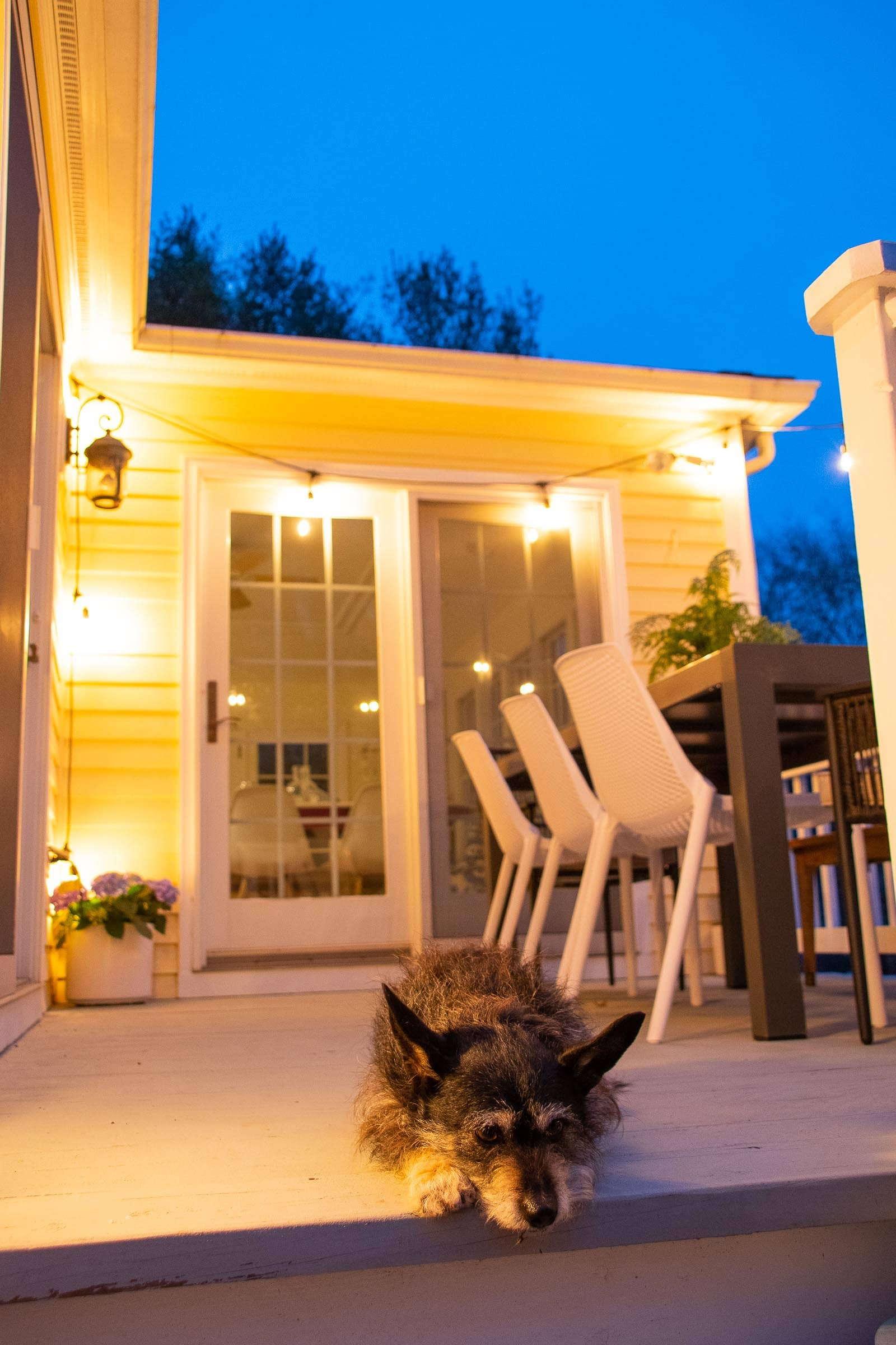 backyard patio deck update