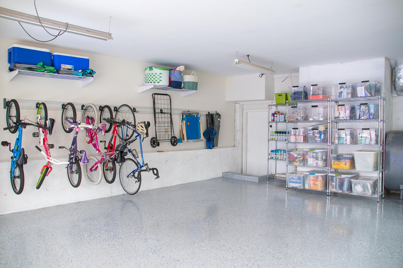 wall storage in garage