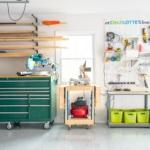 organized garage makeover