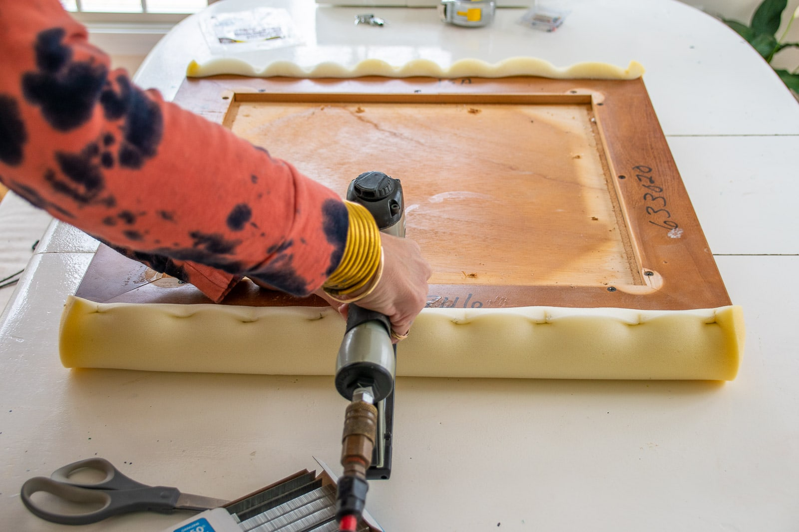 adding padding to the table top