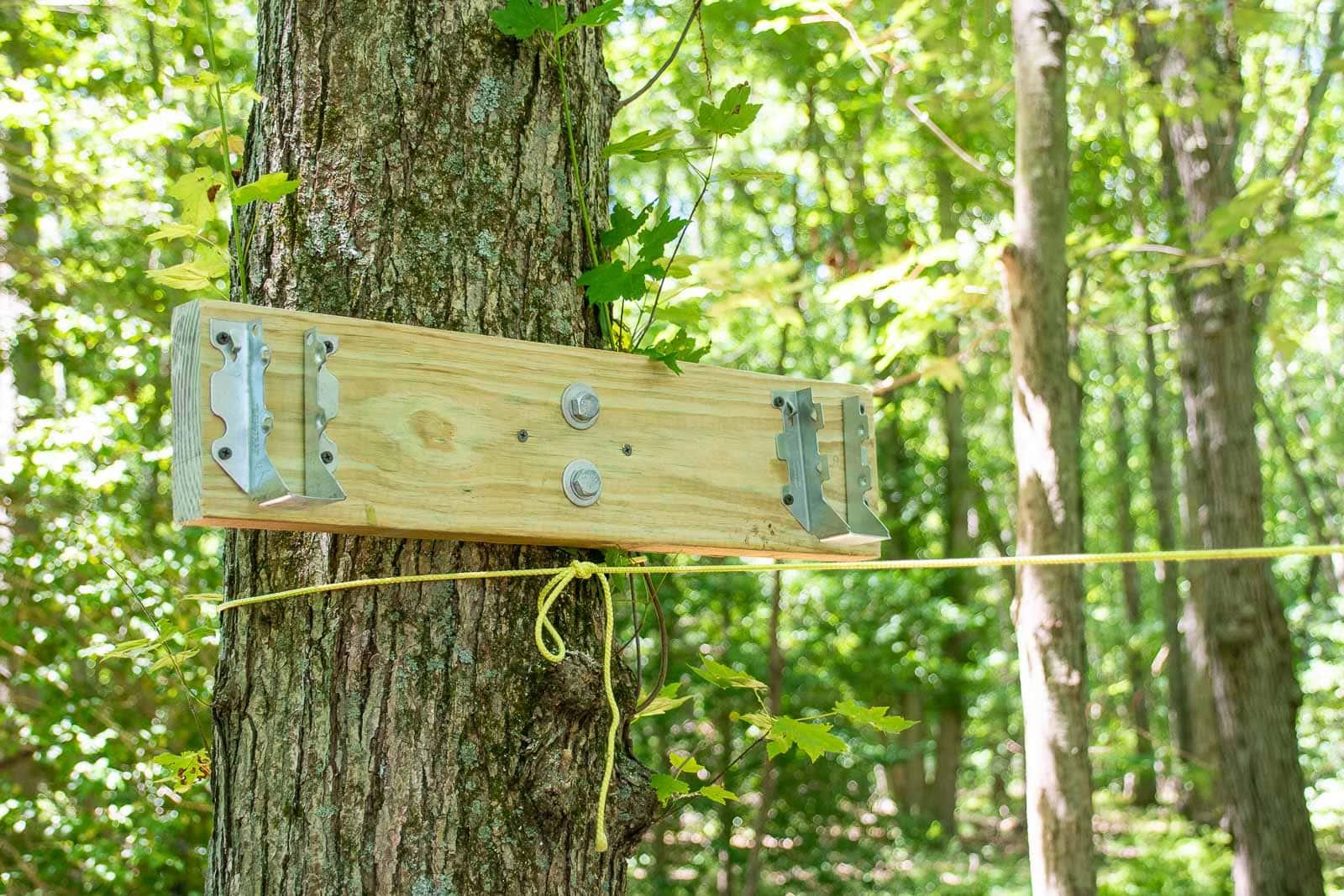 brace for monkey bar frame