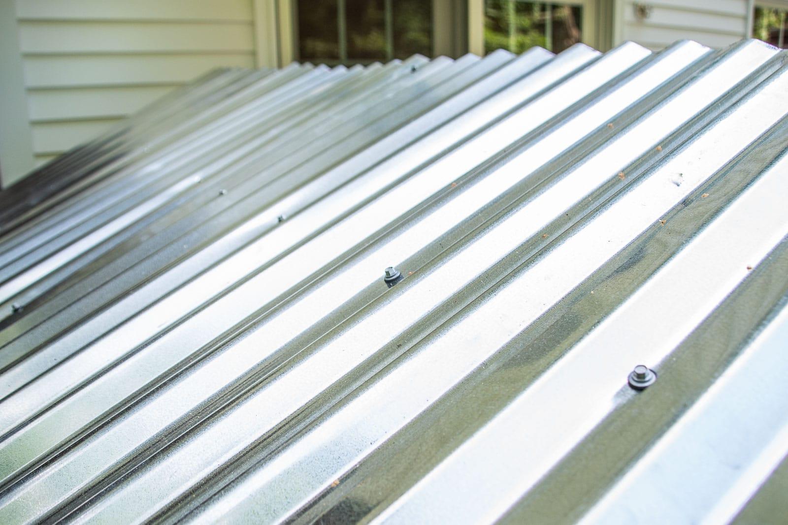 adding galvanized roof