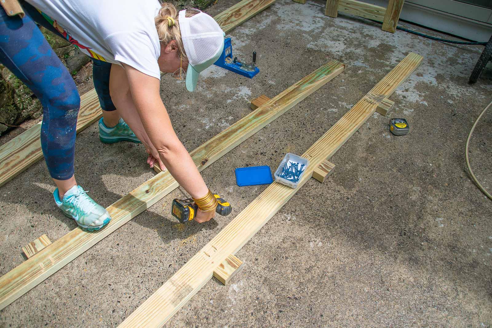 Adding feet with kreg jig