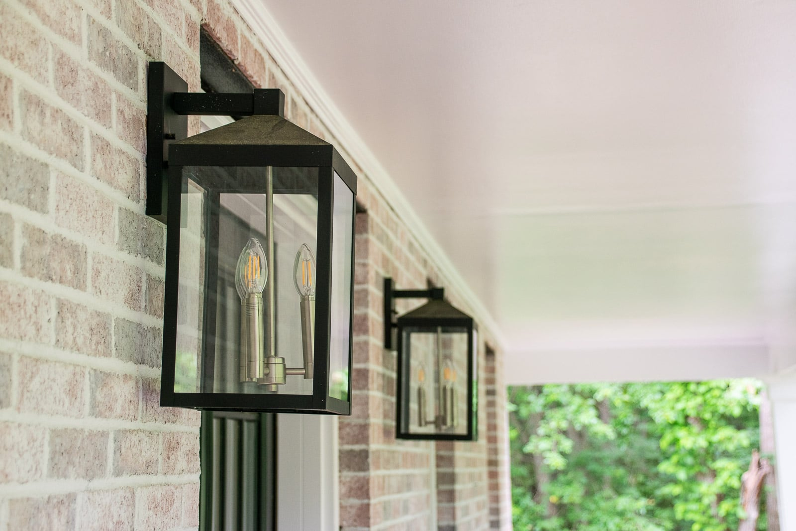 changes to new exterior lights