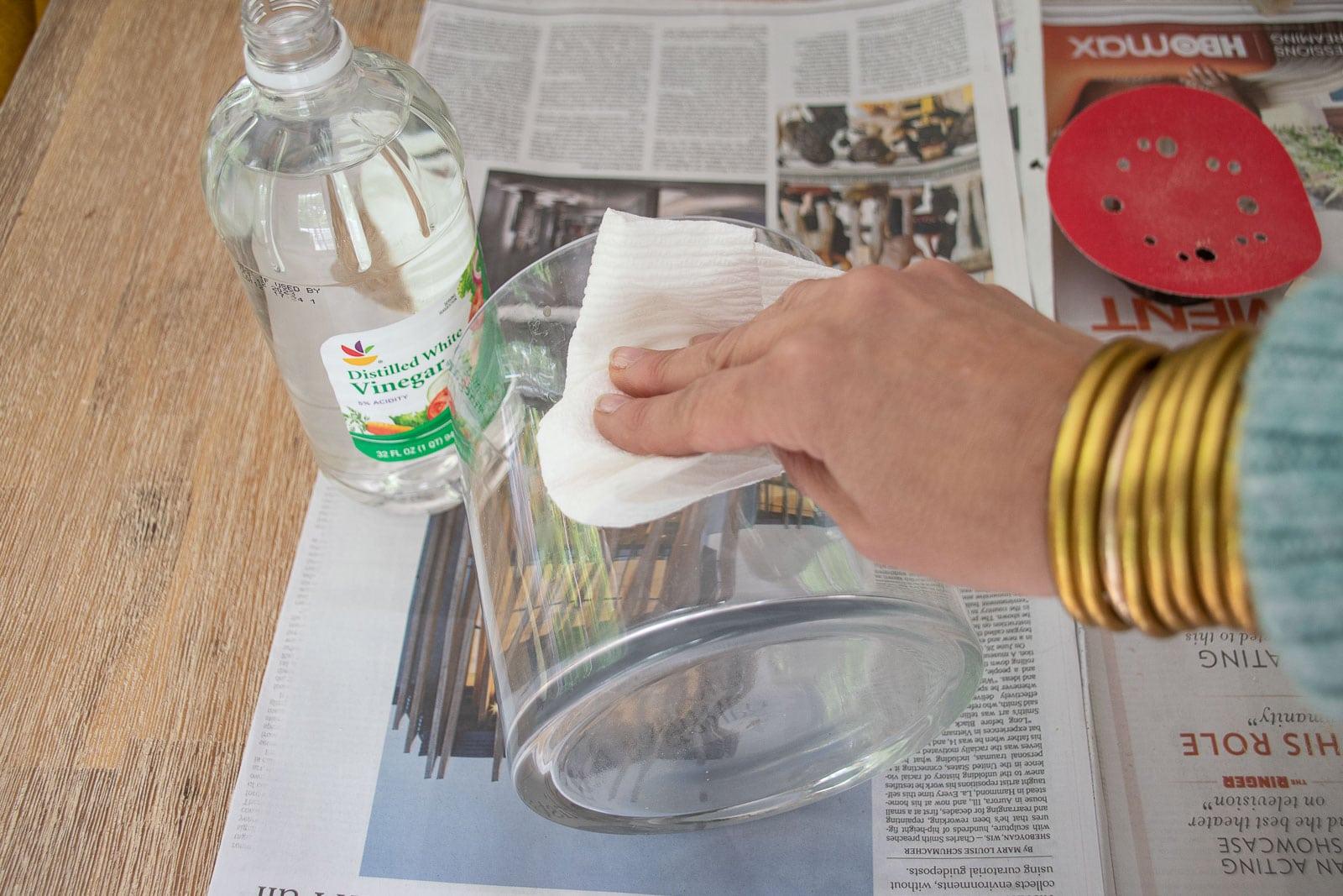 prep the vase