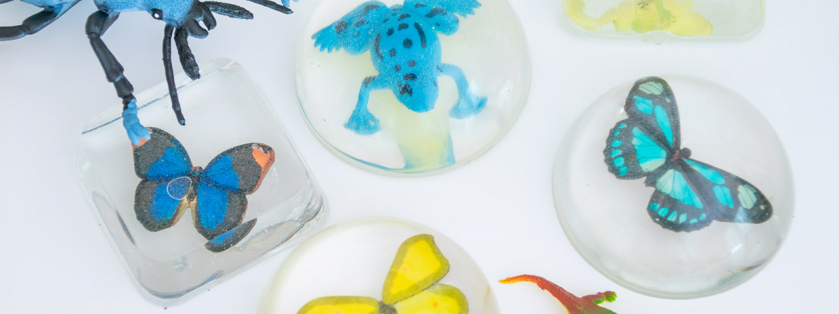 How to Make Faux Scientific Resin Molds