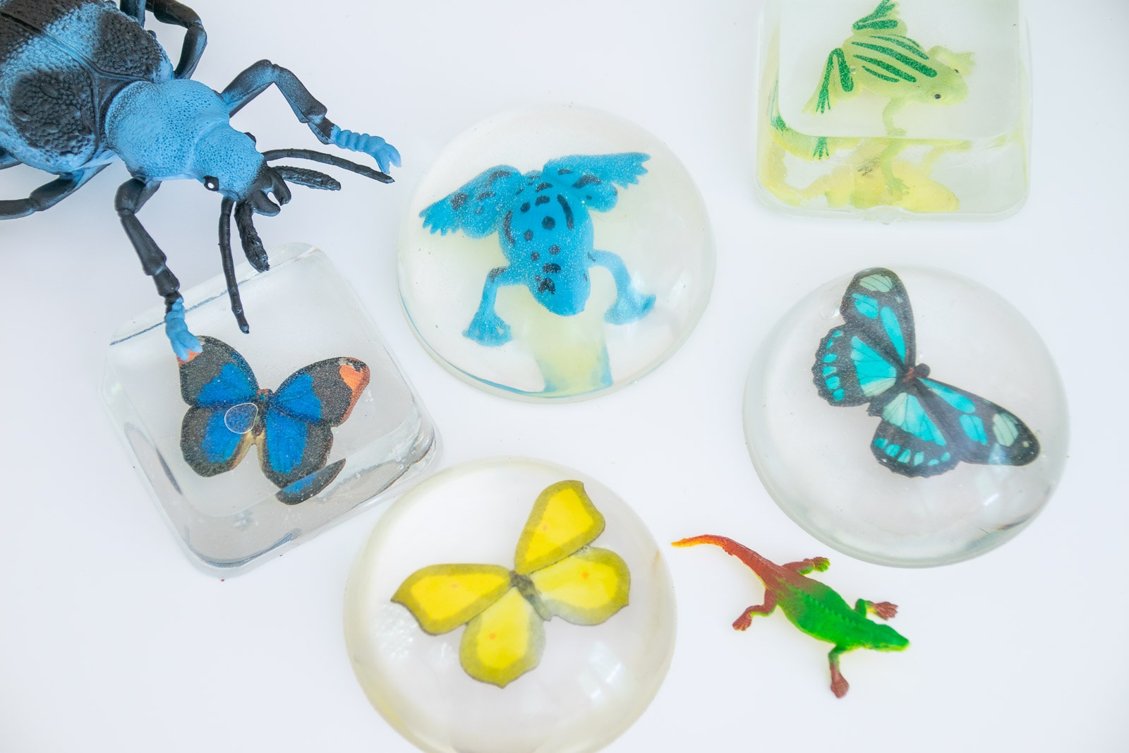 faux scientific resin molds