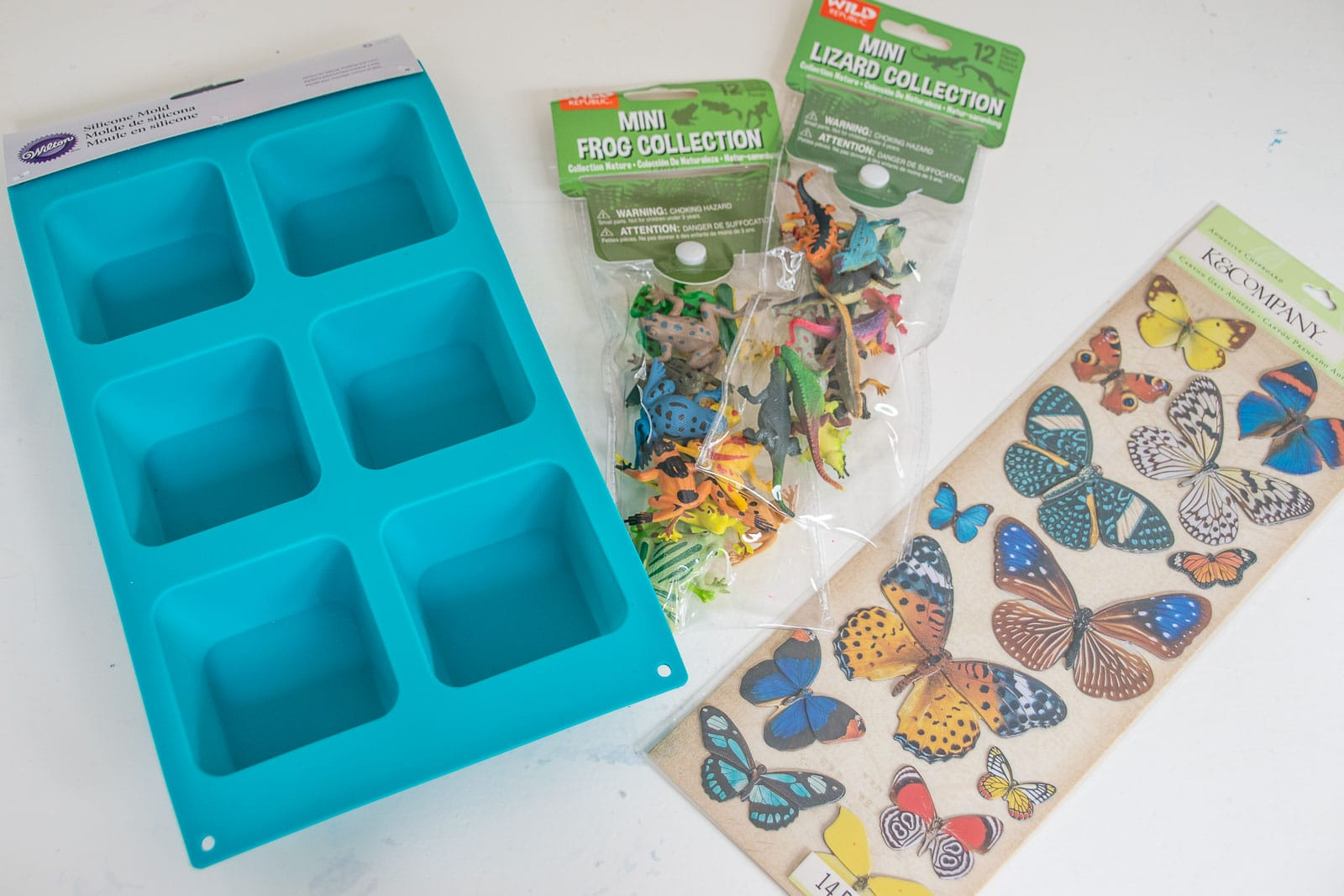 materials for resin bug molds